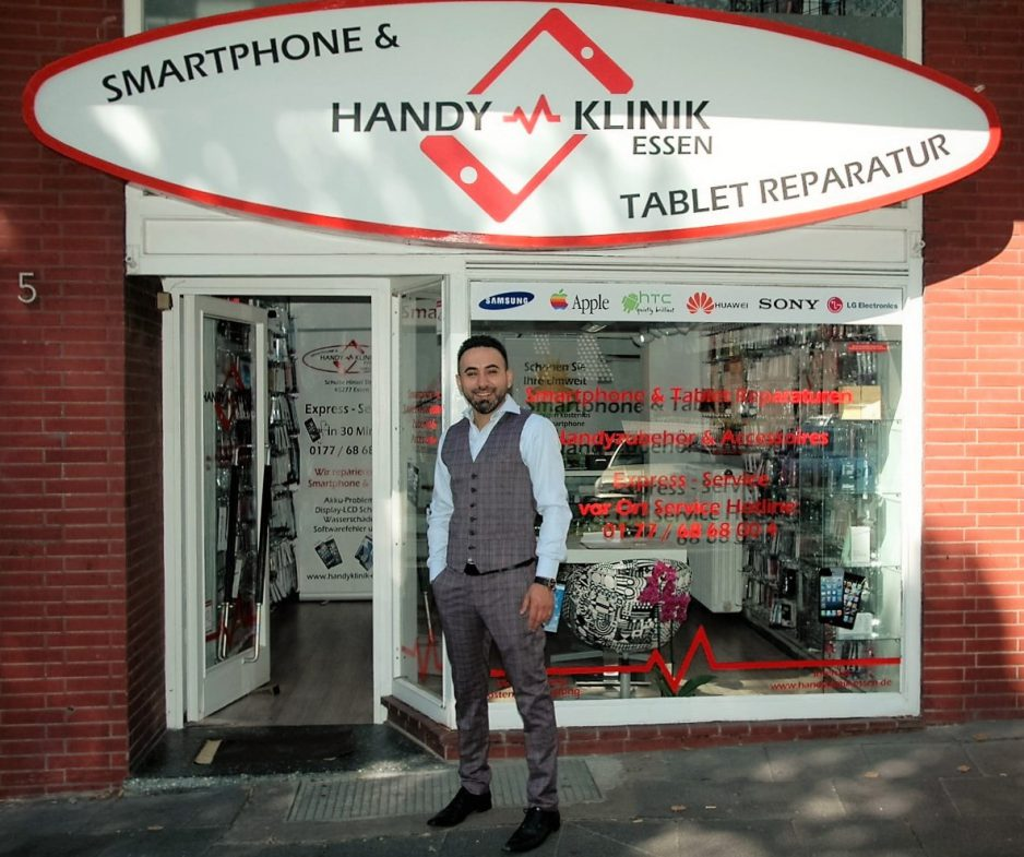 handyklinik in essen handy reparatur smartphone tablets. Black Bedroom Furniture Sets. Home Design Ideas
